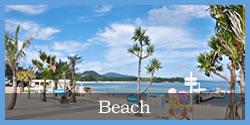 ペンション近くの海をご紹介 beach恩納村