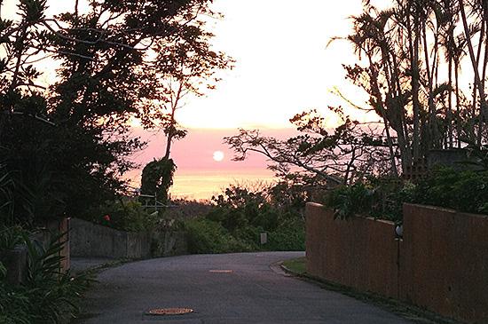 恩納村 サンセット